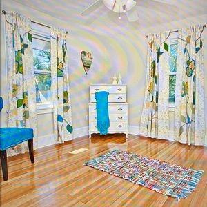 NWOT PIER 1 BOHO VIBE COOL Curtain Panels (4)